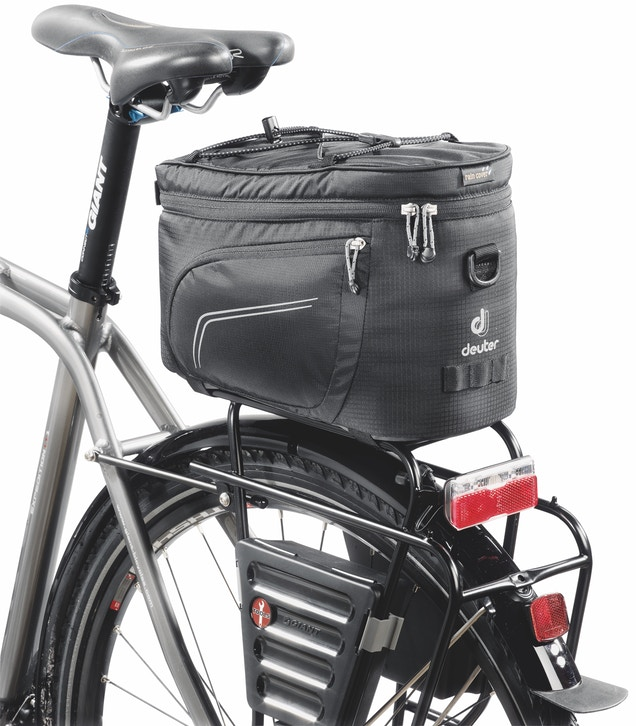 DEUTER PANNIER RACK TOP PACK BLK   , Pannier Bags