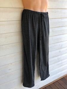Unisex Sleep Pants   100% Merino Wool Charcoal