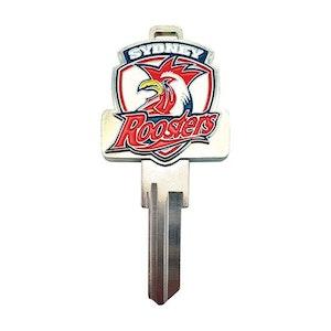 Creative Keys NRL Team Logo Key Blank TE2 - Sydney Roosters