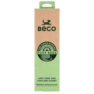 Beco Things Beco Bags Eco Friendly Poop Bags Dispenser Roll