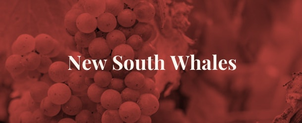 New South Whales wine regions