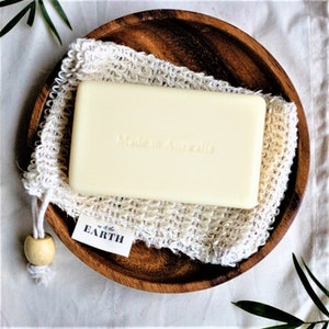 Us and the Earth Reusable Exfoliating Sisal Soap Saver