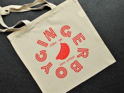 Gingerboy Tote Bag