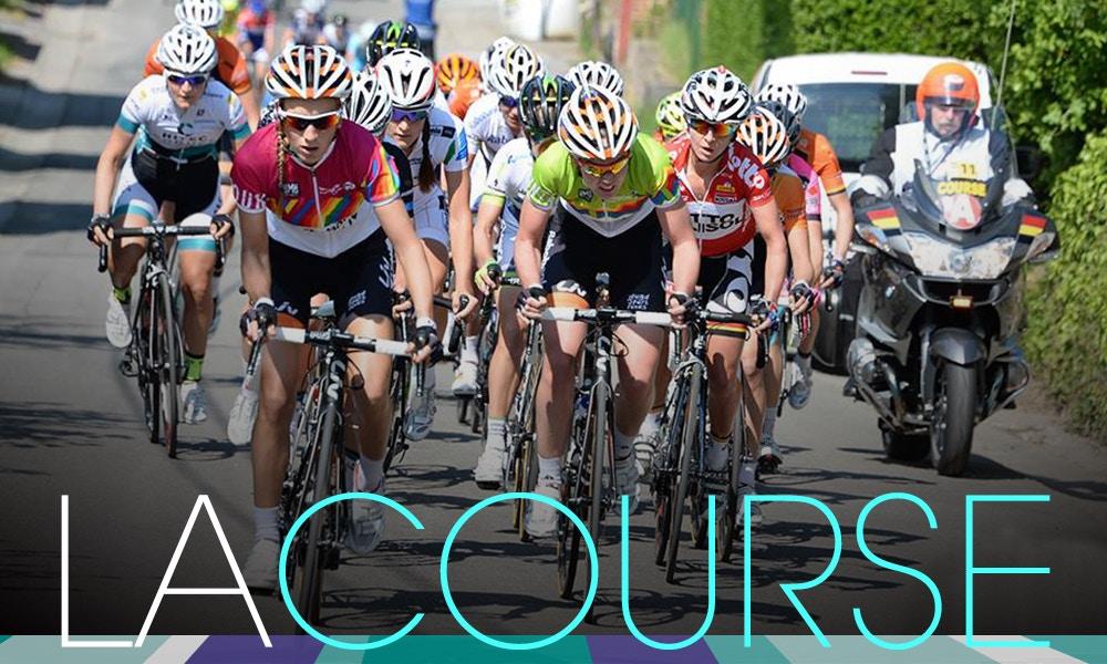 La Course - pro Women Cyclists at Le Tour