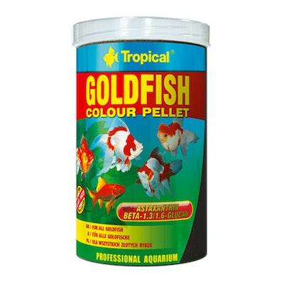 Tropical Goldfish Colour Pellets 90G