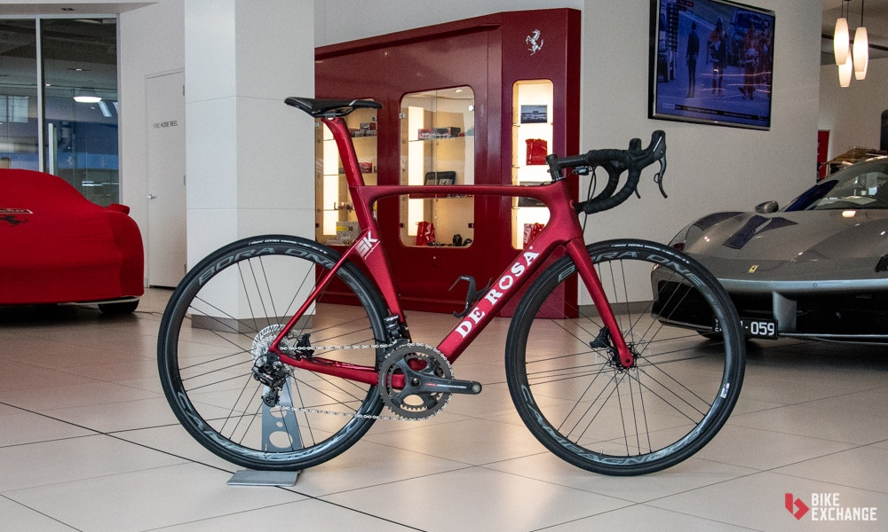 De Rosa Pininfarina SK Disc Aero Road Bike Review
