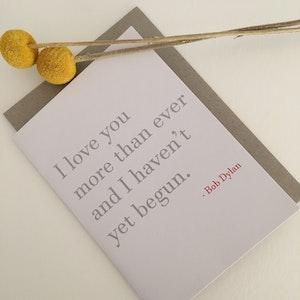 Valentine Card | I love you card | Valentine's Card | Love Card | Wedding Card | Card for wife | Card for husband |