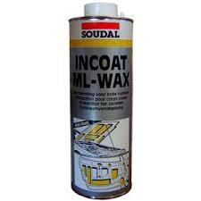 Soudal Cavity Wax Ml Incoat Aero 1kg