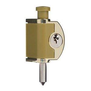 ABUS Mini Push Bolt - Brass