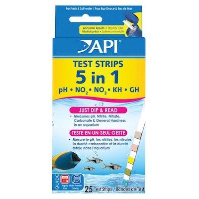 API Quick Testing Strips  5 in 1