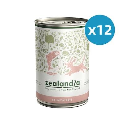 ZEALANDIA Salmon Pate Dog Wet Food 385g x 12