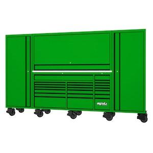 "SP50850G Workstation Tool Kit 708 Piece 128"" METRIC/SAE GREEN/BLACK SP50850G"