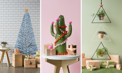Three Quirky Christmas Tree Designs