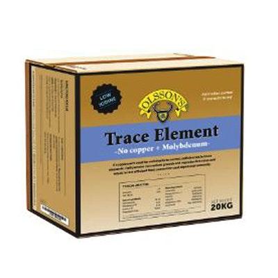 Olsson Trace Element No Copper + Moly Salt Lick Livestock Feed Supplement 20kg
