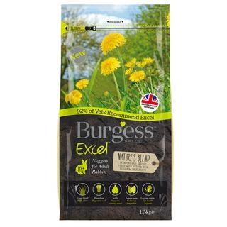 Burgess Excel Natures Blend Adult Rabbit Pellets