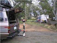 Free camping Huntly Rest Area near Bendigo Victoria