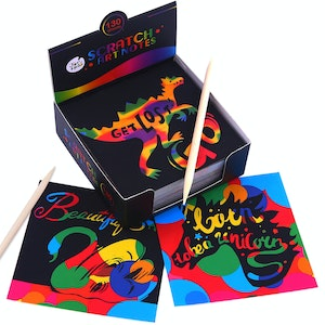 JarMelo SCRATCH ART NOTES SET