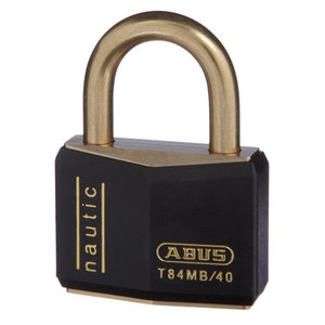 ABUS Nautic Marine Boat Padlock T84MB/40 With Weather Cover