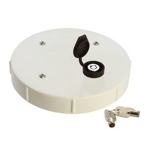 ADI Lockable Caps 150mm PVC Lockable Cap