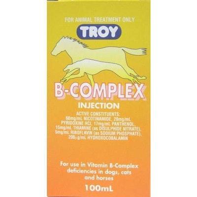 Troy Vitamin B Complex Vitamins Horse Dog Cat 100ml