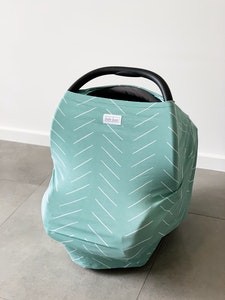 Bebe Luxe Sage Bamboo Multi-Use Cover