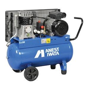 Anest Iwata NB30C/50 Oil Lube Piston Compressor