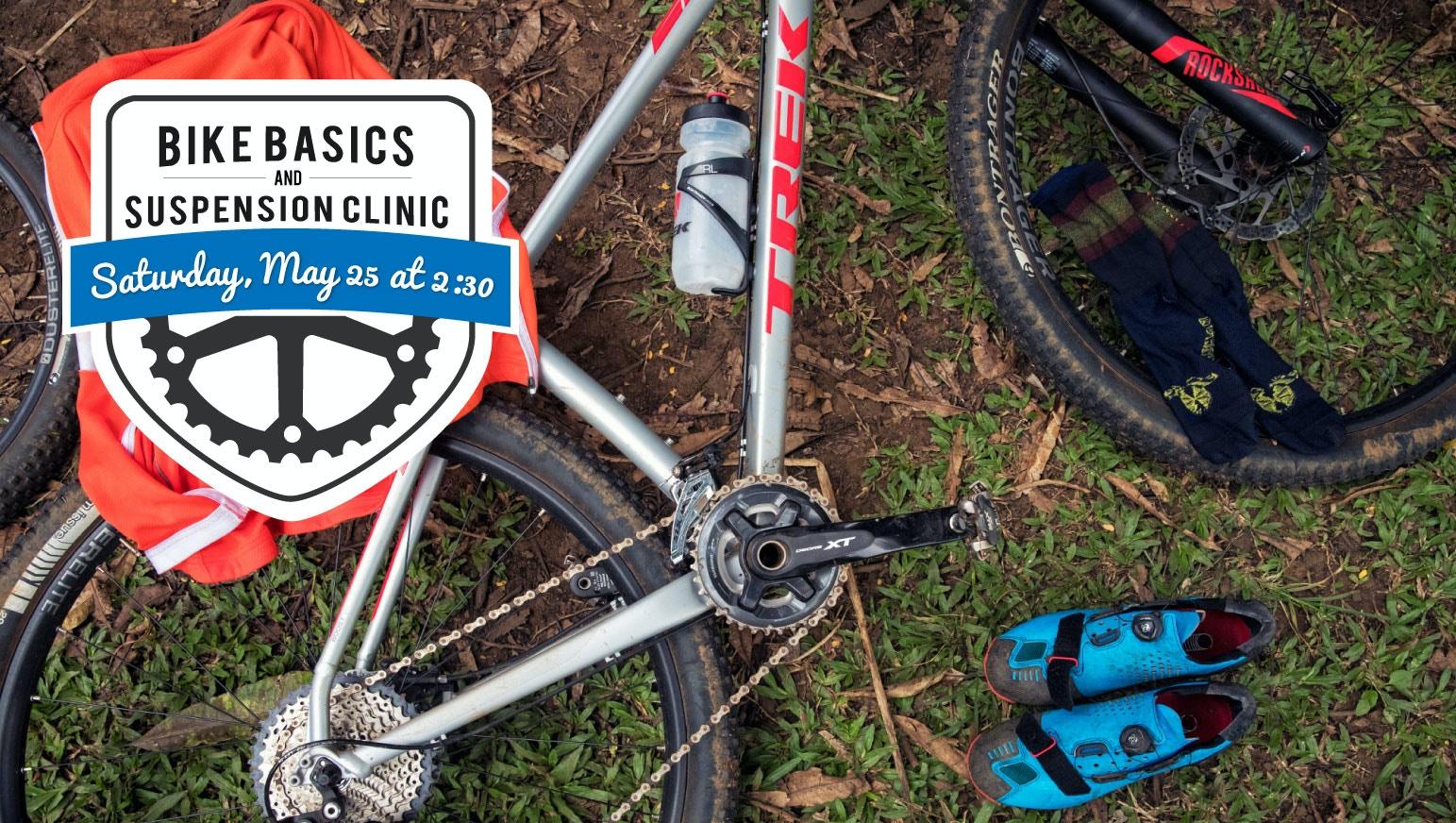 Bike Basics and Suspension Workshop at Tri Bike Run!