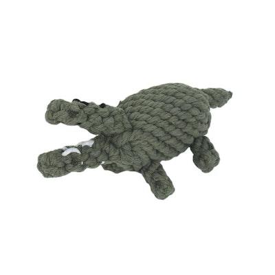 DoggyTopia Crocodile Rope Dog Toy