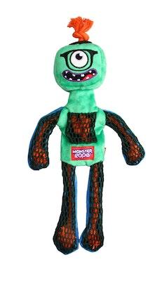 GIGWI Monster Rope Squeaker Medium/Large Green