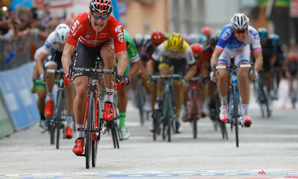 Greipel Gallops to Stage Honors