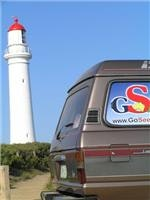 GoSeeAustralia with the Split Point lighthouse in tow