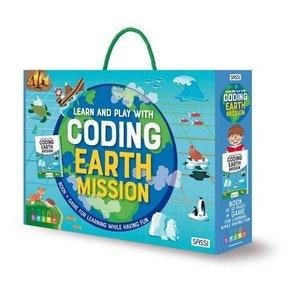 Sassi Junior Sassi - Learn and Play with Coding - Earth Mission