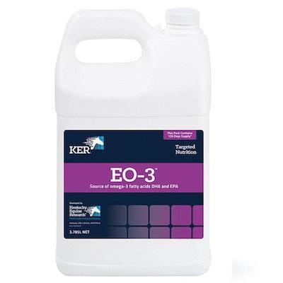 KENTUCKY EQUINE RESEARCH Ker EO 3 Omega 3 Fatty Acids Horse Supplement 3.785L