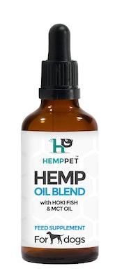 Hemp Pet Hemp Oil Blend with Hoki Fish and MCT Oil for Dogs 100ml