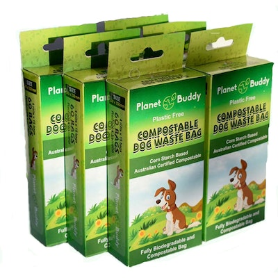 Planet Buddy Dog Waste Bags -6 boxes of 360 bags