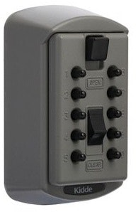 Kidde S6 Key Safe 2 key capacity in Titanium colour