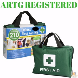 Boutique Medical 210PCS Emergency FIRST AID KIT Medical Travel Set Workplace Family Safety Office