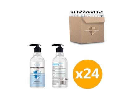 WH Safe *Wholesale* Alcohol-Based Sanitiser Gel (500mL) - 24 Units