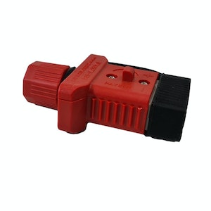 Trailer Vision 50 amp Anderson Plug Cover with Dust Cap Red