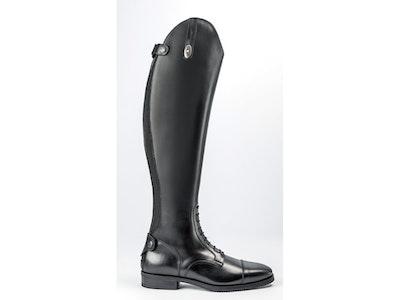 Secchiari 100W Ladies Classic Elastic Calfskin Riding Boots Black