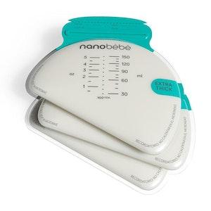 Nanobebe 50 Breastmilk Storage Bags