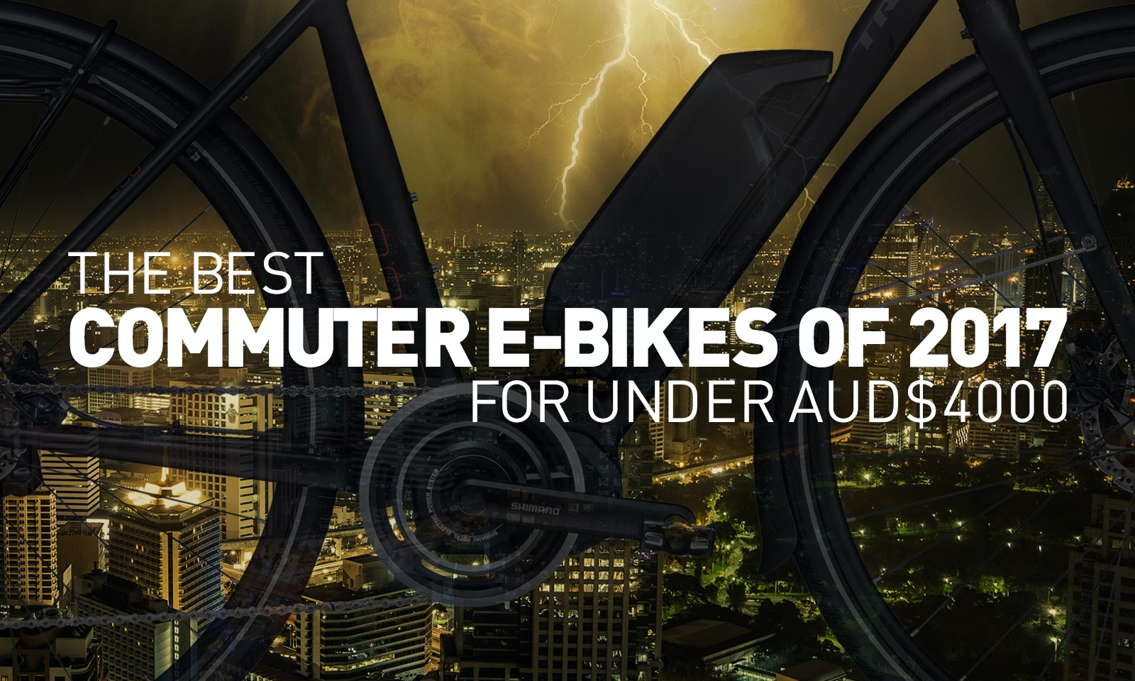 Best Commuter E-Bikes of 2017 for Under AUD$4,000