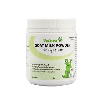 VETNEX Goat Milk Powder For Dogs & Cats 250G