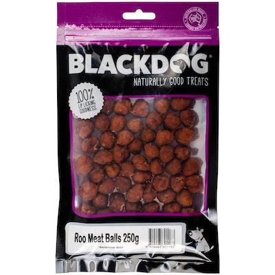 Black Dog Roo Meat Balls Dog Treats 250G