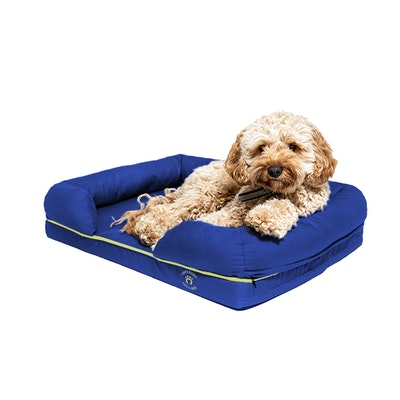 Imperial Petcare Small Imperial Dog Bed - Blue (No Print)