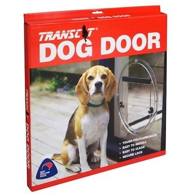 Transcat Dog Door - Clear (Glass Insert)