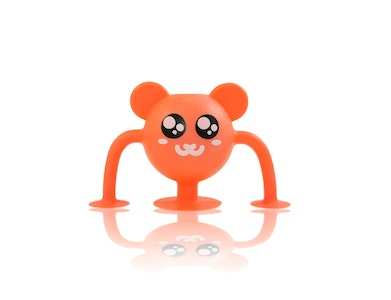 Silicone Suction Baby Bath Toys 1pk - Mikey Meerkat - Zoo Collection
