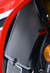 R&G Racing Radiator Guard To Suit Honda CBR1000RR / SP / SP2 (Black)