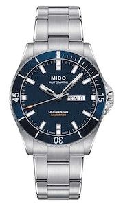 Mido Ocean Star - Stainless Steel - Stainless Steel Strap