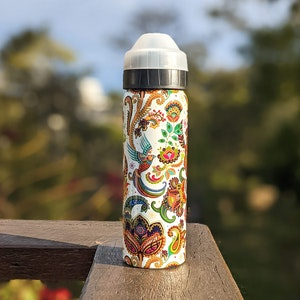 Ecococoon 600ml Drink Bottle - Spill-Free - Versailles